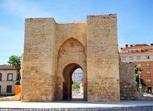 托莱多门户,雷阿尔城,西班牙 库存图片