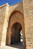 托莱多门户,雷阿尔城,西班牙 免版税库存照片