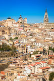 托莱多,卡斯提尔la Mancha,西班牙 免版税库存照片