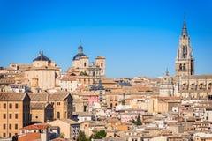 托莱多,卡斯提尔la Mancha,西班牙 免版税图库摄影