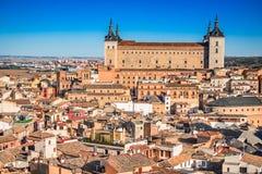 托莱多,卡斯提尔la Mancha,西班牙 库存图片