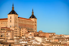 托莱多,卡斯提尔la Mancha,西班牙 免版税库存图片