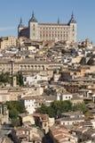 托莱多,卡斯蒂利亚-拉曼查/西班牙 2017年10月19日 城市有许多地方利益并且是一个世界遗产名录站点从19 图库摄影