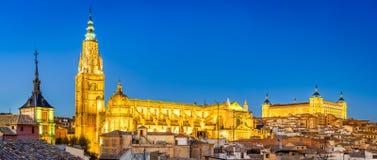 托莱多,卡斯蒂利亚la Mancha,西班牙 免版税库存图片