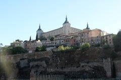 托莱多,西班牙城堡  免版税图库摄影