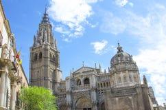 托莱多,西班牙大教堂  免版税库存照片