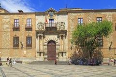 托莱多,西班牙的大主教的宫殿 图库摄影