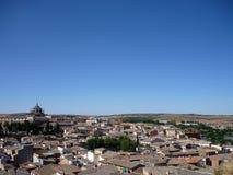 托莱多,西班牙看法。 库存照片