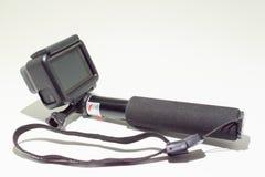 托莱多,西班牙- 2 1月6, 018 :GoPro英雄6黑编辑 免版税库存照片