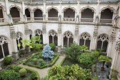 托莱多-国王的圣约翰修道院哥特式心房  库存照片