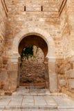 托莱多 在城市墙壁的门 免版税库存图片