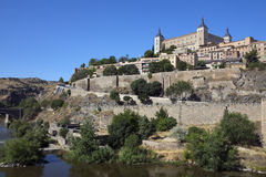 托莱多- La Mancha -西班牙 免版税图库摄影