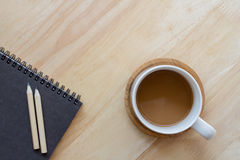 托起咖啡 免版税库存图片