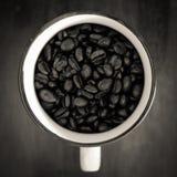 托起咖啡 图库摄影