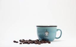 托起咖啡 免版税库存照片