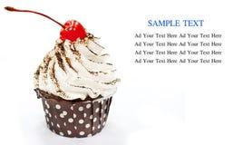 托起蛋糕   免版税库存图片