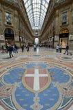 维托里奥埃马努埃莱II购物的画廊,米兰 免版税库存图片