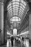 画廊维托里奥Emanuele II 免版税库存照片