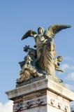 维托里奥Emanuelle III (Vittoriano) 免版税库存图片
