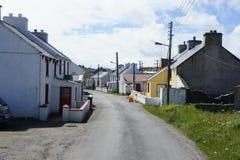 从托里岛, Donegal,爱尔兰的场面 免版税图库摄影
