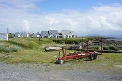 从托里岛, Donegal,爱尔兰的场面 库存图片