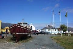 从托里岛, Donegal,爱尔兰的场面 库存照片