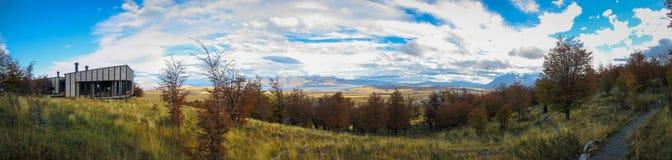 托里斯del潘恩国家公园在智利 免版税库存图片