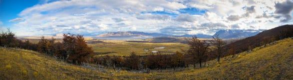 托里斯del潘恩国家公园在智利 免版税库存照片