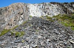 托里斯del潘恩国家公园W艰苦跋涉 免版税库存图片