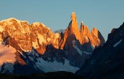托雷峰,巴塔哥尼亚,阿根廷 库存照片