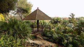 托雷莫利诺斯角植物庭院MOLINO台尔INCA 库存图片