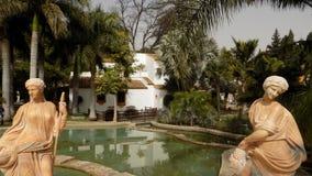 托雷莫利诺斯角植物庭院MOLINO台尔INCA- 免版税图库摄影