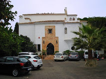 """托雷莫利诺斯角,西班牙†""""2016年9月18日:迈阿密旅馆Residenc 库存图片"""