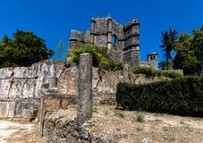 托马尔的基督会院在Tomar,葡萄牙 免版税库存图片