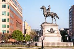 托马斯圈子,华盛顿特区 免版税库存照片