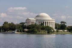 托马斯・杰斐逊纪念华盛顿特区 图库摄影