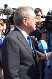 托马斯・巴赫, IOC的总统 免版税图库摄影