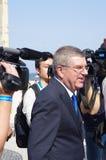 托马斯・巴赫, IOC的总统 免版税库存图片