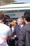 托马斯・巴赫, IOC的总统 库存照片