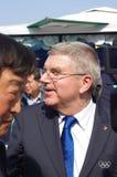 托马斯・巴赫, IOC的总统 库存图片