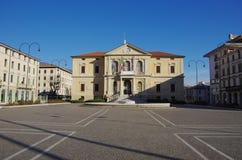 维托廖韦内托市政厅  免版税库存图片