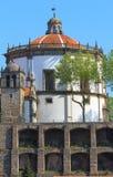 执行修道院毛发的葡萄牙serra 库存照片