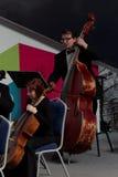 执行在文化论坛期间的圣彼德堡交响乐团 库存图片