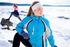 执行女孩体育运动 库存照片