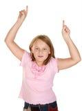 执行女孩赢利地区的舞蹈 免版税库存图片