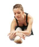执行女性的舞蹈演员 库存图片