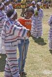 执行妇女的埃赛俄比亚的人新 库存图片