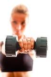 执行妇女锻炼年轻人 库存照片