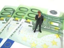 执行欧洲的商业 免版税库存照片