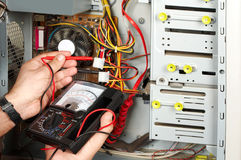 执行电机工程师被评定 图库摄影